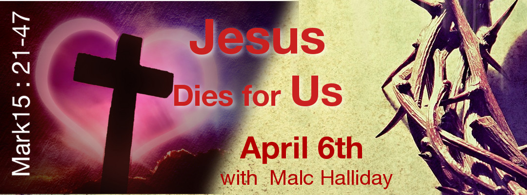 Jesus dies for us